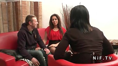 French arab mom fucked hard for her casting couch