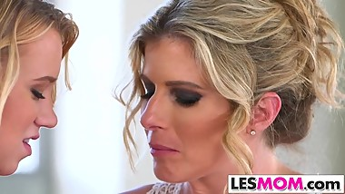 Bailey Brooke makes out with her stepmom Cory Chase