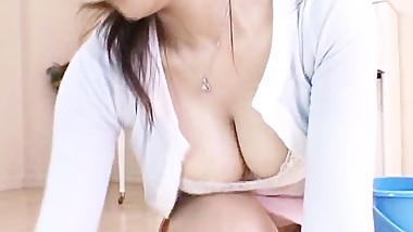 Miki Sato is a aroused and hooters mum part1