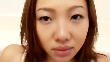 Arisa Sugano is a hot MiLF in sexy lingerie that is toyed