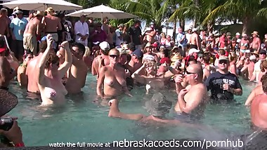 Wet T-Shirt Contest with Milfs Gilfs and Swingers
