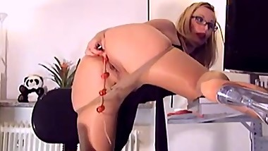 Blond Pantyhose Milf Webcam