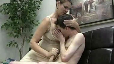 Carrie Moon is the jerking tutor