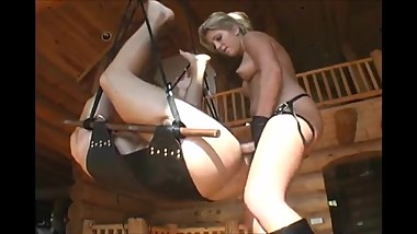 Blonde Milf Strapon Her Boyfriend by Troc