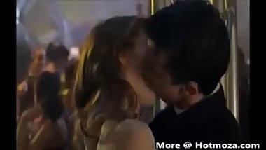 Brother and Sister Accidently Kiss