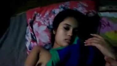Desi Shy Cute Girl Enjoyed by BF