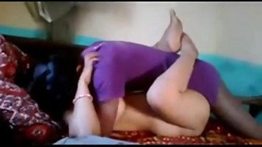 Bangla Couple Group Sex with Aunty