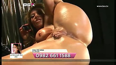 Lynda Live Oiled Up Solo
