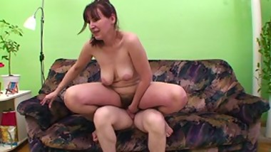 Dirty mature whore takes cock in cunt and mouth for a bit of semen