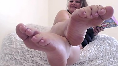 Feet JOI - Stroke for the Dice