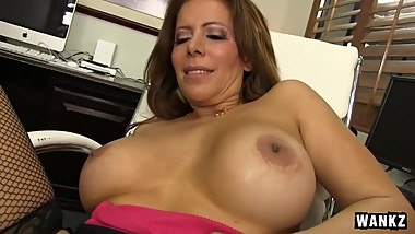 Nicky Ferrari Loves To Get Her Mature Pussy Filled
