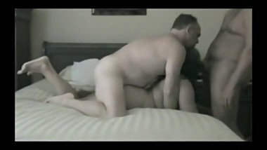 Mature Swinger Sex Mature Wife Shared in Threesome