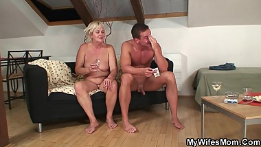 My Wifes Mom - Home party goes very very bad