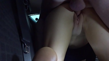 Fucking Paige in the car