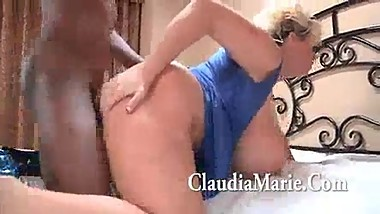 Claudia Marie vs black cook