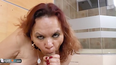 AgedLove latin bbw mature Gloria
