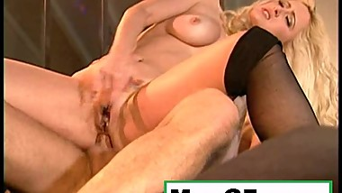 Hot Milf Black Stocking Fucking Blonde PornStar Sex Video