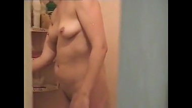 Filming my nude step mother