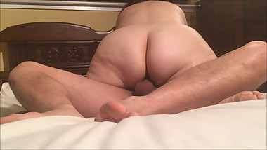 Married Busty MILF gets fucked by a young stud