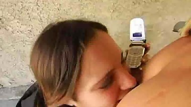she sucked bf when talking with mommy on public