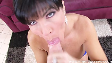 Spizoo - Shay Fox is new in the scene but this hot MILF has skills
