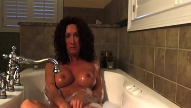Sexy home alone wife