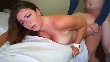 sexy milf fucks while husband is away