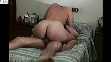 urvy Wife with a Beautiful Round and Big Ass Riding...