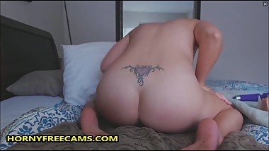 Young Mommy Has Milky Tits And Big Creamy Pussy