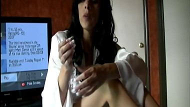 Mommy jerk off instruction