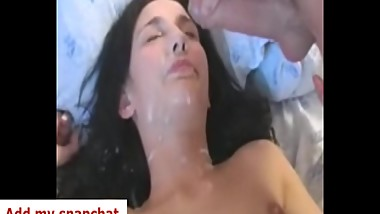 2 Cocks jizzing on my face